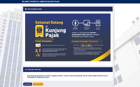PSBB Jilid II DKI Jakarta, Sistem Aplikasi Kunjung Pajak Masih Normal