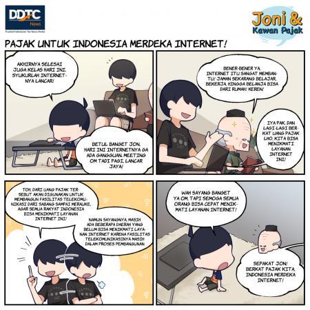 Pajak untuk Indonesia Merdeka Internet!