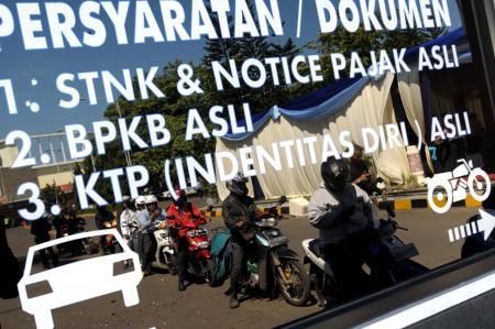 Duh, 40.000 Nopol Kendaraan di Kabupaten Ini Terancam Diblokir