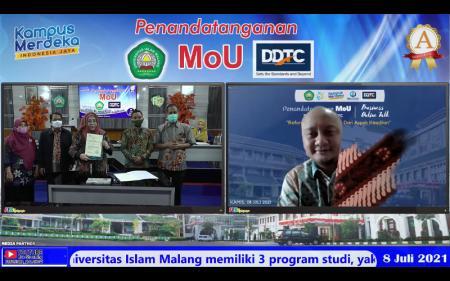 Giliran Unisma yang Teken Kerja Sama Pendidikan dengan DDTC