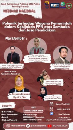 Ada Webinar Soal Polemik PPN Sembako, Berminat?