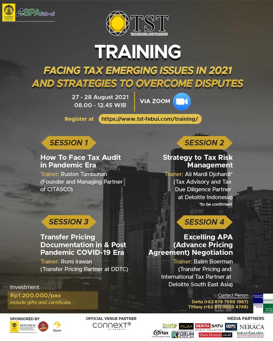 FEB UI Adakan Training Perpajakan, Cek Infonya di Sini