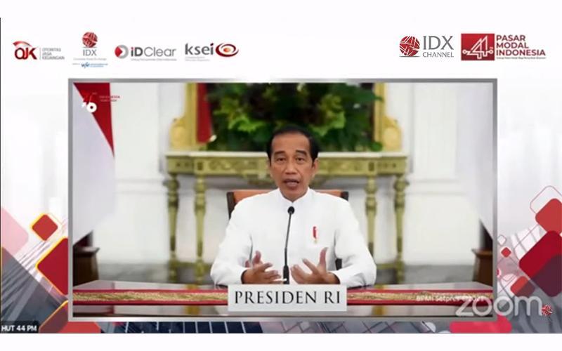 Ekonomi Kuartal III/2021 Diestimasi Lebih Berat, Jokowi: Harus Waspada