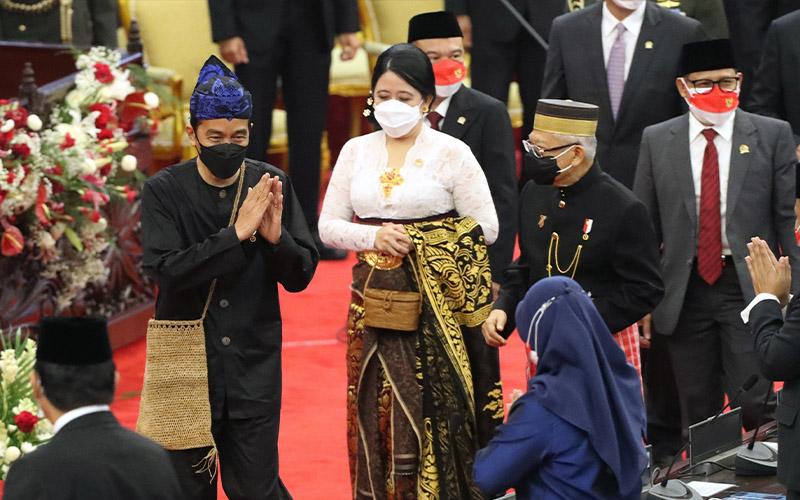 Jokowi: Kita Berusaha Maksimal Capai Pertumbuhan di Batas Atas