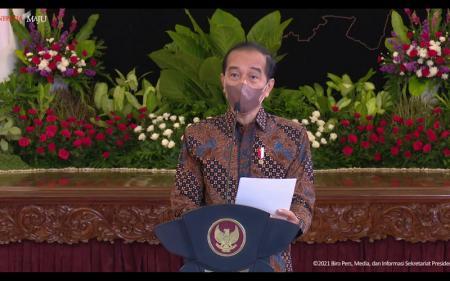 Inflasi Rendah, Jokowi: Perlu Disyukuri Sekaligus Diwaspadai