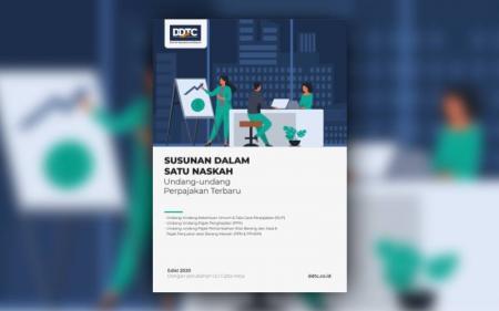 Peraturan Perpajakan Terkini dalam PDF Terintegrasi, Download di Sini!