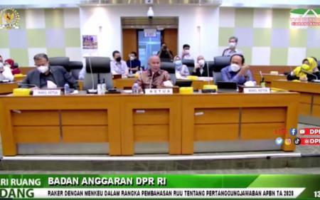 Banggar DPR Setujui RUU P2 APBN 2020, Ini Respons Sri Mulyani