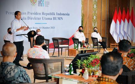 BUMN Go Global, Jokowi Minta Adaptasi Teknologi Dipercepat