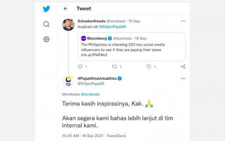 Ditjen Pajak Diminta Gencar Periksa Influencer, Begini Respons Taxmin