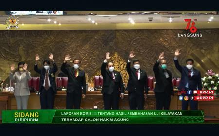 DPR Setujui 7 Calon Hakim Agung, Tidak Ada untuk TUN Khusus Pajak