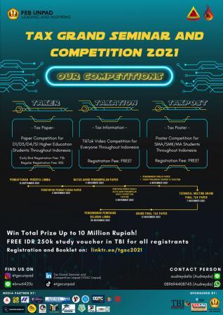 Himappa Unpad Gelar Kompetisi Paper, Poster, dan Video Kreatif Pajak