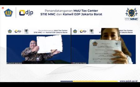 Kanwil DJP Jakarta Barat Tambah Daftar Kerja Sama dengan Tax Center