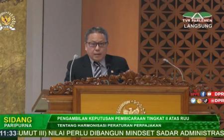 Mayoritas Fraksi DPR Setujui UU HPP Disahkan, PKS Kukuh Menolak
