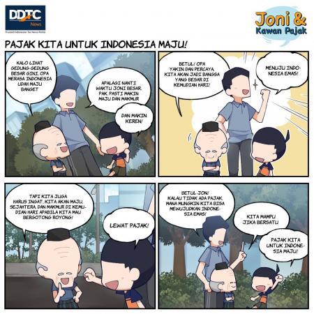 Pajak Kita untuk Indonesia Maju