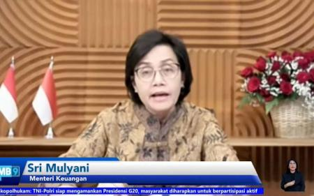 Presidensi G20 Indonesia, Sri Mulyani: Isu Pajak Jadi Menu Utama