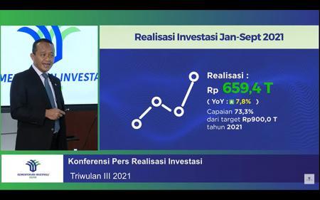 Realisasi Investasi Tumbuh 7%, Bahlil: Investor Sudah Adaptasi
