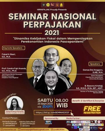 Universitas Brawijaya Adakan Seminar Nasional Perpajakan, Tertarik?