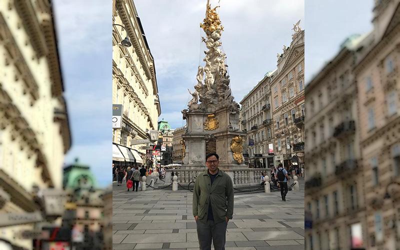 Profesional DDTC Menjadi Pembicara Konferensi CFC di Austria