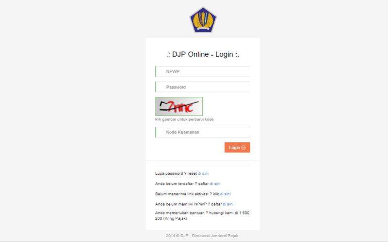 SPT Masa PPh Hasil Unifikasi Bakal Terintegrasi dengan DJP Online