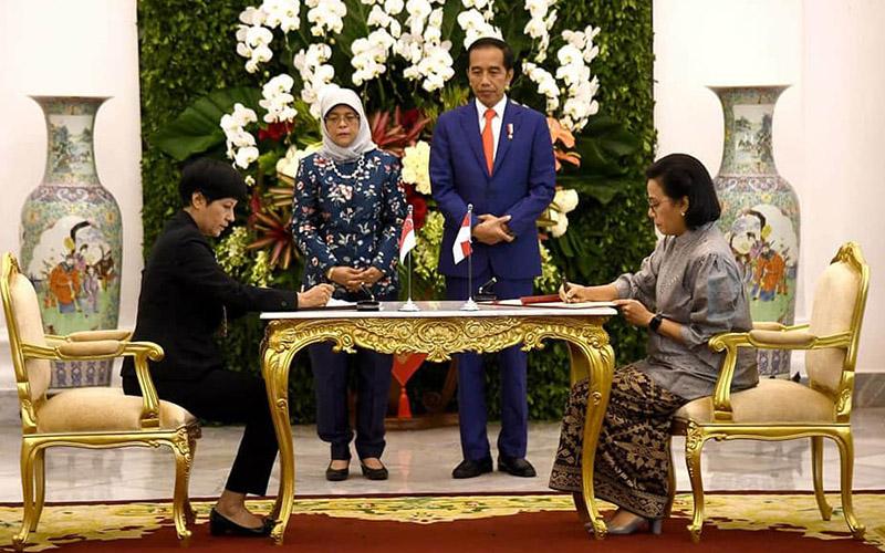 Indonesia & Singapura Sepakati Pembaruan P3B, 2 Tarif Pajak Ini Turun