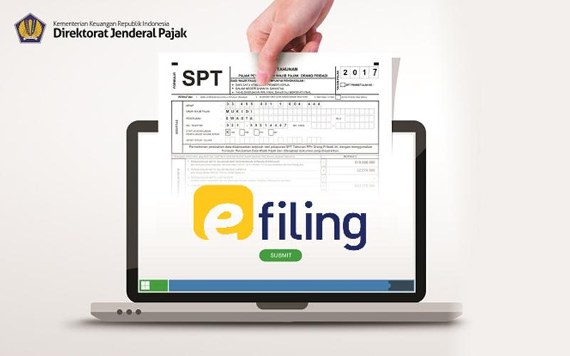Hampir 90% Pelaporan SPT Tahunan Lewat E-Filing DJP Online