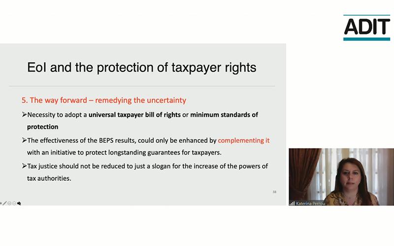 Perlu Ada Konsensus Hak Wajib Pajak dalam Pertukaran Informasi
