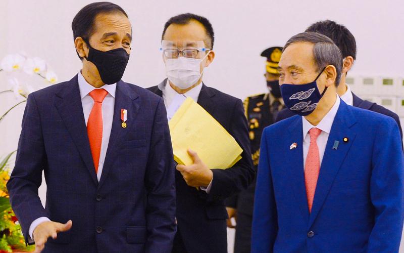 Kunjungi Indonesia, Perdana Menteri Jepang Beri Utang Rp6,9 Triliun