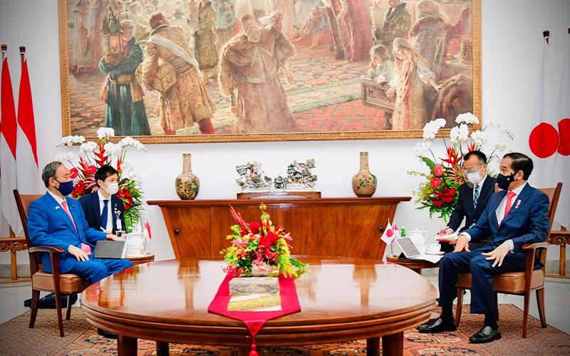 Ini Hal-Hal yang Disepakati dari Pertemuan Jokowi dengan PM Jepang