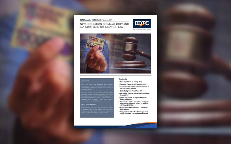 Klaster Perpajakan UU Cipta Kerja & UU Bea Meterai, Download di Sini