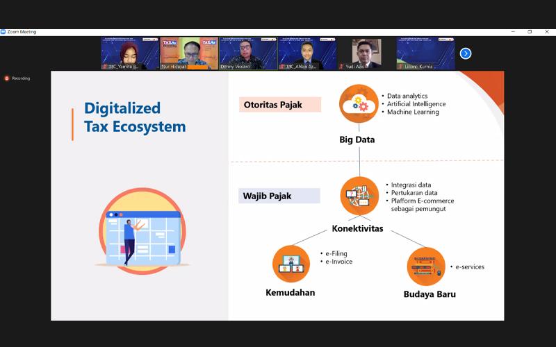 Digitalisasi Perlu Dibarengi Perubahan Paradigma Lihat Pajak