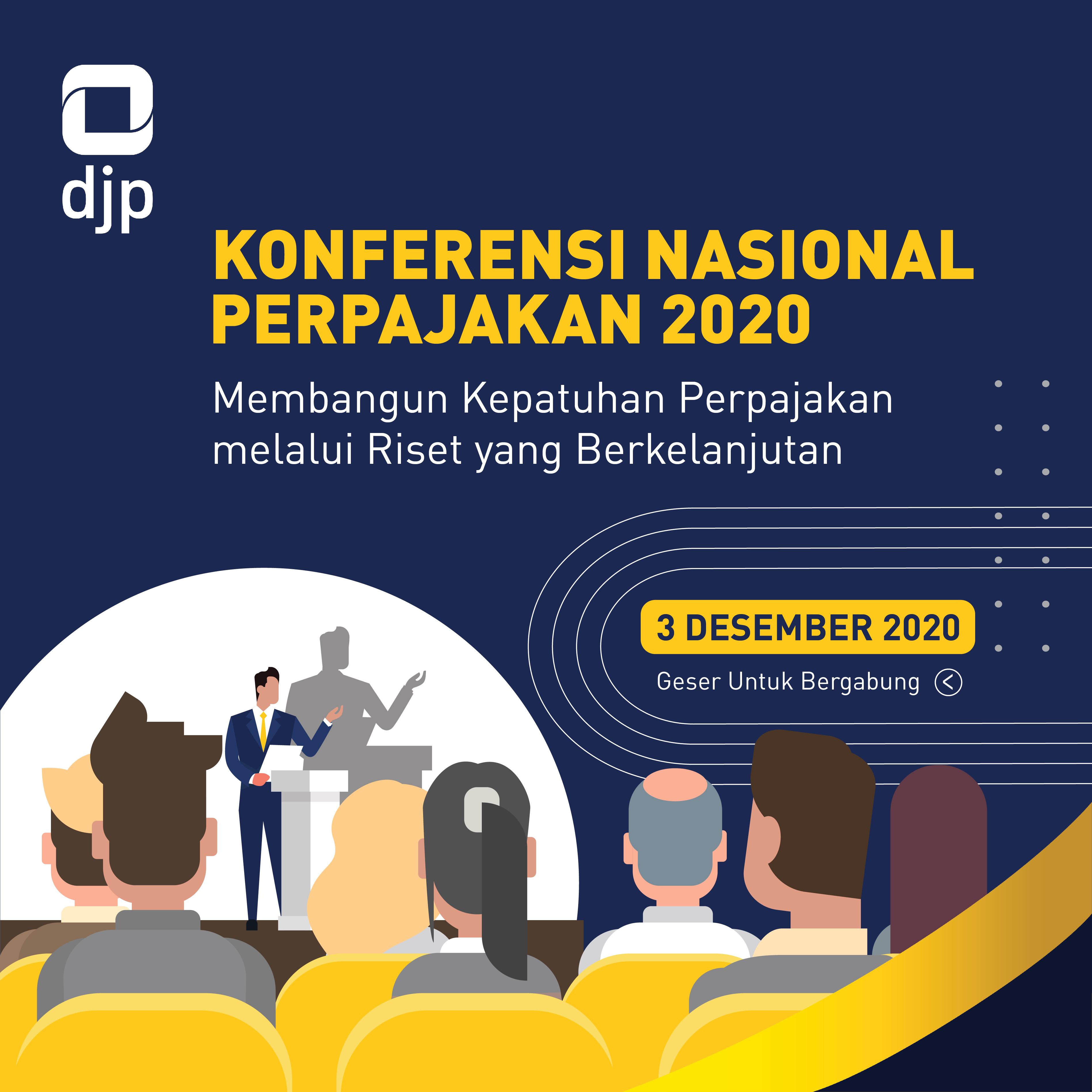 DJP Gelar Konferensi Nasional Perpajakan, Mau Ikut?