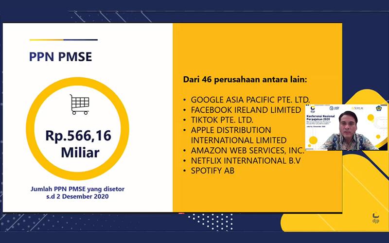 Penerimaan PPN Produk Digital PMSE Tembus Setengah Triliun