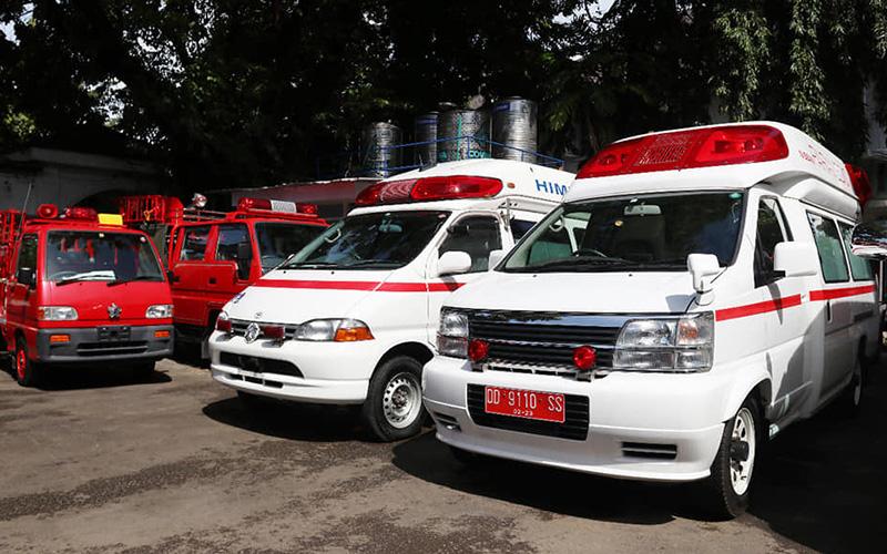 DJBC Bebaskan Bea Masuk Hibah Mobil Damkar dan Ambulans dari Jepang