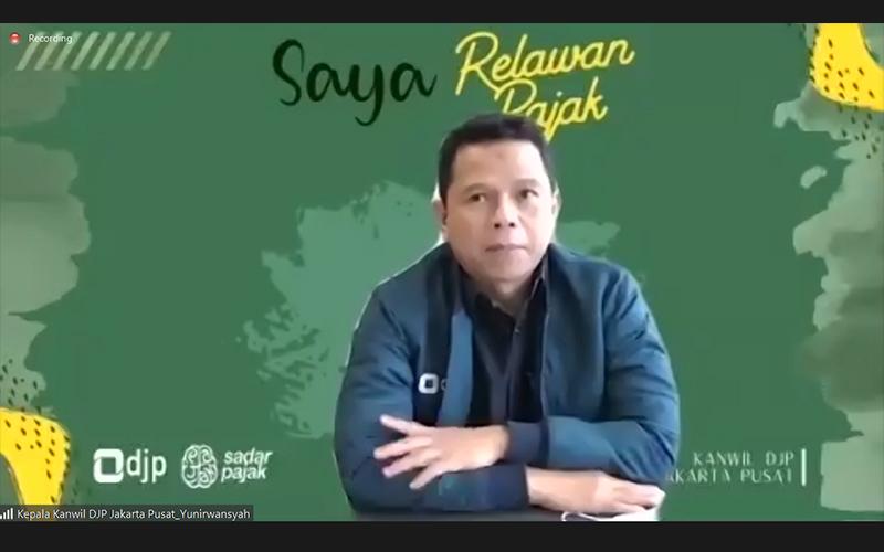 Dikukuhkan, 160 Relawan Pajak Kanwil DJP Jakarta Pusat Siap Bertugas