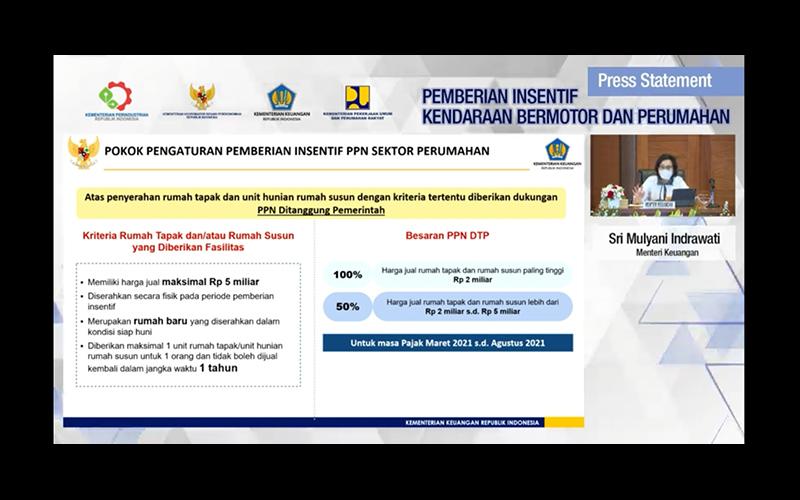PPN Rumah Ditanggung Pemerintah, Sri Mulyani Sudah Siapkan Anggarannya