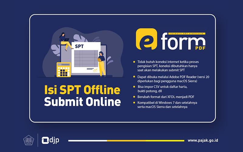 Ada Aplikasi e-Form Versi Terbaru di DJP Online, Sudah Coba?