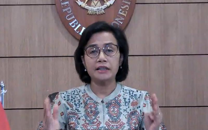 Di Depan Fitch Ratings, Sri Mulyani Beberkan Posisi Utang Indonesia