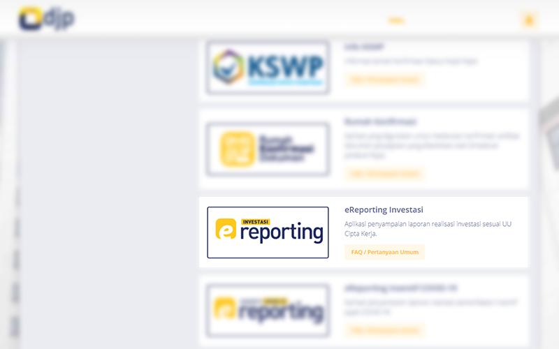 Sudah Ada Aplikasi Laporan Realisasi Investasi Dividen di DJP Online