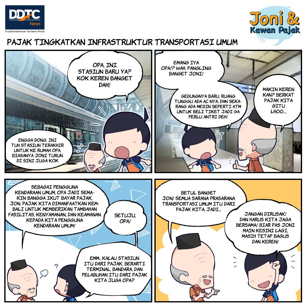 Pajak Tingkatkan Infrastruktur Transportasi Umum