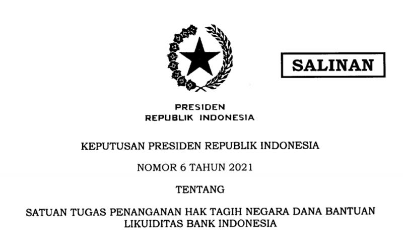 Tangani Dana BLBI, Jokowi Bentuk Satgas Khusus
