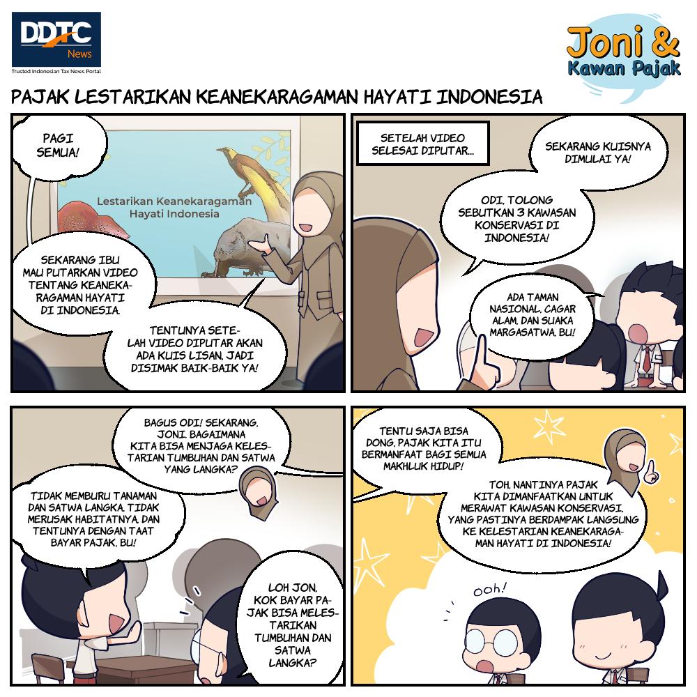 Pajak Lestarikan Keanekaragaman Hayati Indonesia