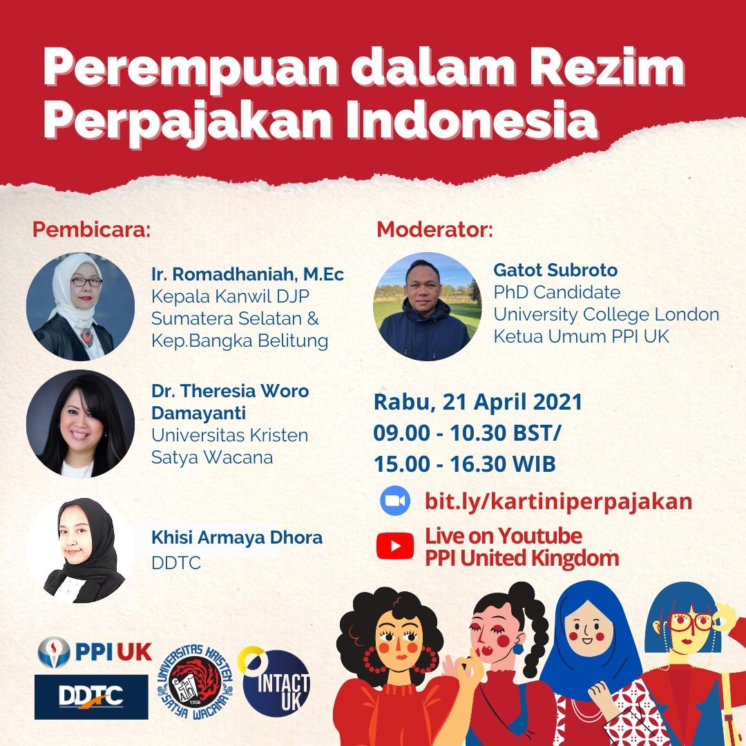 Ada Webinar Perempuan dalam Rezim Perpajakan Indonesia, Tertarik?