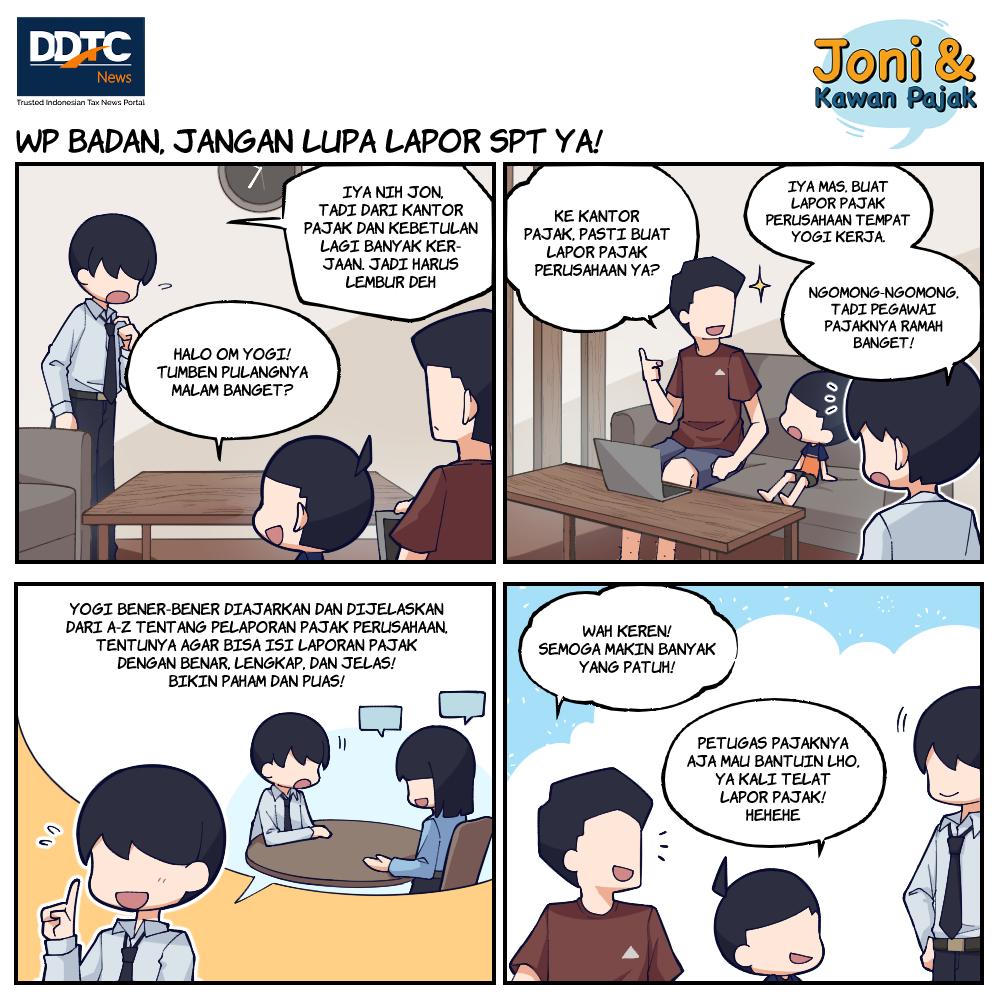 WP Badan, Jangan Lupa Lapor SPT Ya!