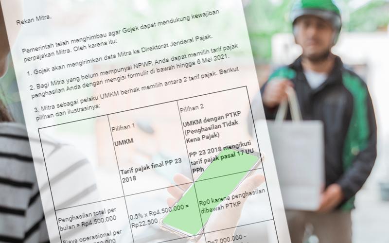 Soal Kepemilikan NPWP, Ini Kata Asosiasi Driver Ojek Online