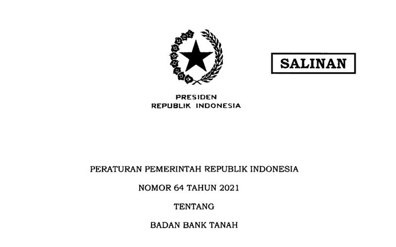 Jokowi Bentuk Badan Bank Tanah, Ini Tugasnya