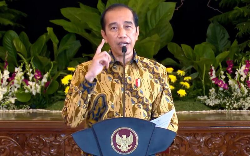 Presiden Jokowi Ingin Ekonomi Kuartal II/2021 Semua Provinsi Positif