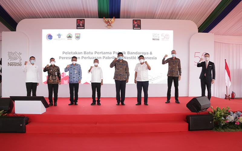 Bangun Pabrik Baru, Nestle Indonesia Tambah Investasi US$220 Juta