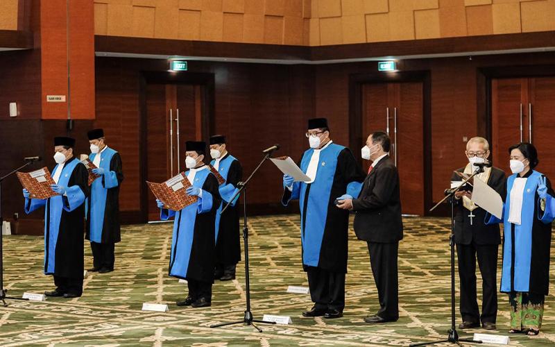 8 Orang Hakim Pengadilan Pajak Resmi Dilantik
