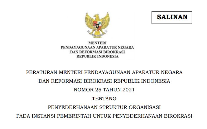 Pemerintah Minta Setiap Instansi Rampingkan Unit Jabatan Administrasi