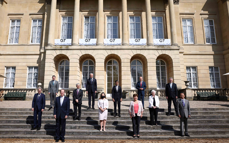 Dukung Konsensus Global Pemajakan Ekonomi Digital, Ini Kesepakatan G7